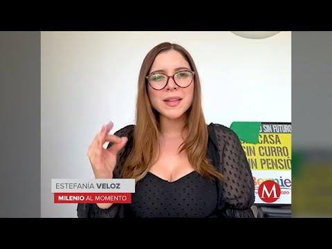 Feministas marchaban por el feminicidio de Alexis y les respondieron con balas: Estefanía Veloz
