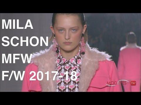MILA SCHON | WOMAN FALL WINTER 2017 - 2018 | FULL FASHION SHOW HD