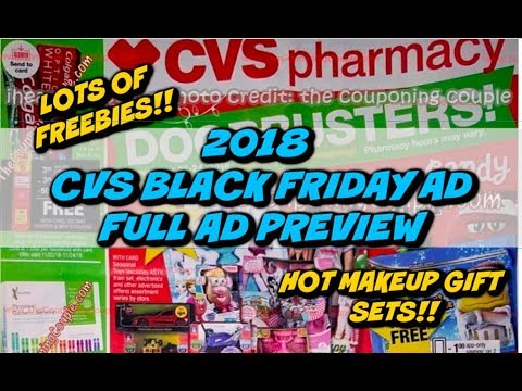 🔥🔥CVS 2018 BLACK FRIDAY AD - FULL PREVIEW | MUST WATCH!!!