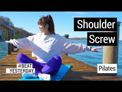 Pilates: Kontrolliert zu kräftigen Muskeln mit dem Shoulder Screw
