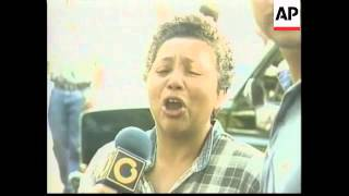 VENEZUELA: CARACUS: LA PLANTA PRISON BREAKOUT