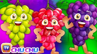 ChuChu TV Grape Song (SINGLE) | Learn Fruits for Kids | Educational Songs & Nursery Rhymes
