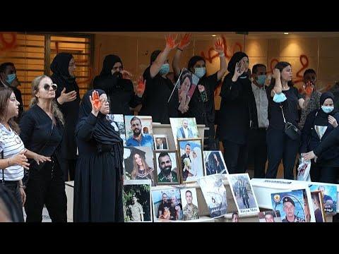 "A belügyminiszter ellen tüntettek <span class=""search-everything-highlight-color"" style=""background-color:orange"">Libanonban</span>"