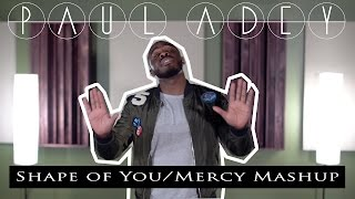 Ed Sheeran & Shawn Mendes - Shape of You/Mercy Mashup (Paul Adey Cover)