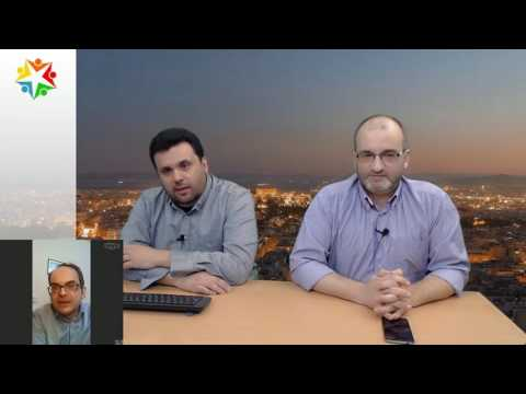 WebTV: Πέρρος, Δανέλλας, Κουζώφ, Μπέκας 22/03/2017