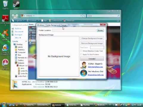 Mettere sfondo su windows 7 starter