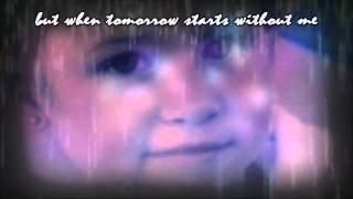 when tomorrow starts without me ♦ Haylee