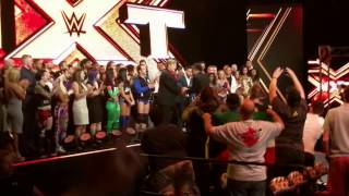 NXT 4/12/17 Emotional Goodbye to Nakamura