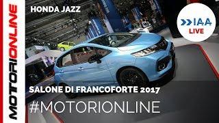 Honda Jazz 2018 | LIVE al Salone di Francoforte 2017
