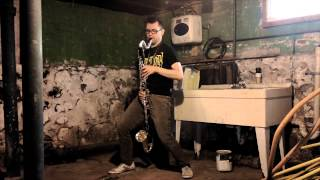 Suffocation - Surgery of Impalement (bass clarinet cover with distortion)