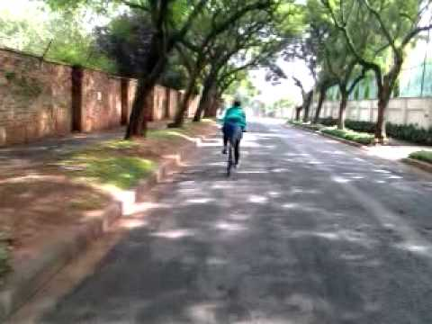Taking a ride by bike through Jozi's Northern Suburbs