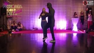 KIZOMBA GOLD DUBAI FESTIVAL 2016: Mike Event's & Emilie show