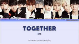 SF9 (에스에프나인) - Together [color coded lyrics han | rom | eng]