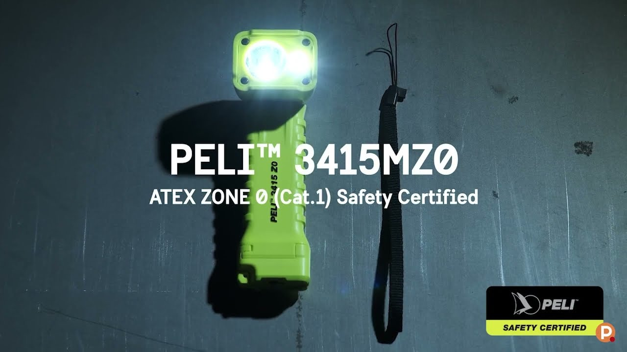 Lampe torche coudée Peli™ 3415MZ0 Atex Zone 0
