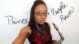 Prince - Purple Rain - Saxophone Cover