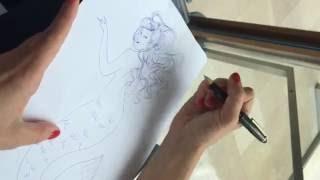 """Comment j'ai dessiné... """"Culottées"""", la leçon de dessin par Pénélope Bagieu"""