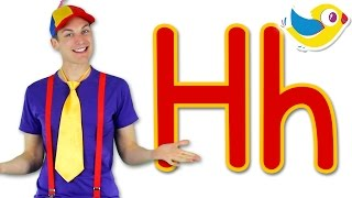 The Letter H Song - Learn the Alphabet width=