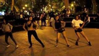 Parque Castilla Noviembre 2015 SISTAR(씨스타) _ SHAKE IT By WIGGLE GIRLS Perú