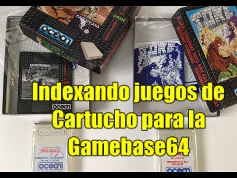 Commodore 64 Real 50Hz: Indexando Juegos en Cartucho para la Gamebase64 (V_b)