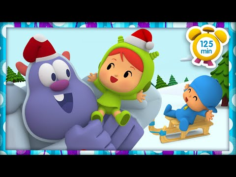 ⭐️ POCOYÓ en ESPAÑOL - Una Navidad diferente [125 min]   CARICATURAS y DIBUJOS ANIMADOS para niños