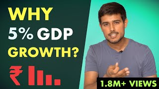 Reality of 4.5% GDP Growth in Indian Economy | Analysis by Dhruv Rathee
