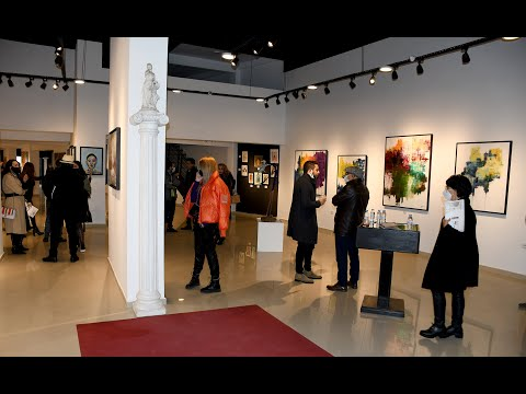Video : La galerie d'art Living4Art inaugure l'Exposition Collective « Reflet »