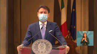 Le misure del nuovo DPCM presentate dal presidente Conte - www.canalesicilia.it