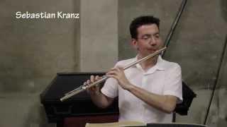 Joachim Andersen Etüde op.15 Nr. 3, Sebastian Kranz, Nordharzer Städtebundtheater (Flöte solo)