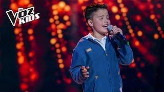 Juanse Laverde canta Cómo Mirarte - Audiciones a ciegas   La Voz Kids Colombia 2018