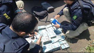 Argentino é preso com R$ 1,2 milhão sem comprovação de origem na fronteira com o Uruguai