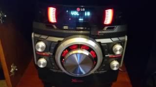 Mini System LG CM 8440 - Tocando Flash Back