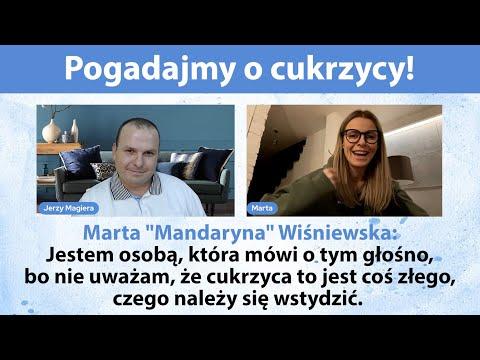 Pogadajmy o cukrzycy - NA ŻYWO - gość specjalny - Marta MANDARYNA Wiśniewska