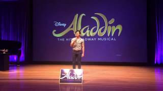 Aladdin Musical Preveiw - Proud Of Your Boy