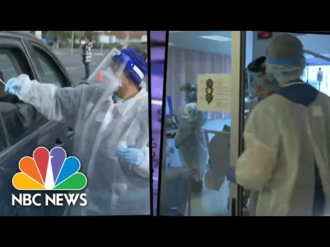 Growing Debate Over CDC Guidance On Wearing Masks Outdoors   NBC Nightly News