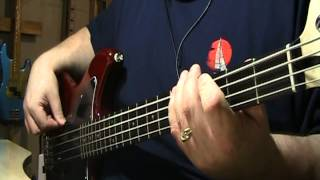 Twisted Sister I Wanna Rock Bass Cover