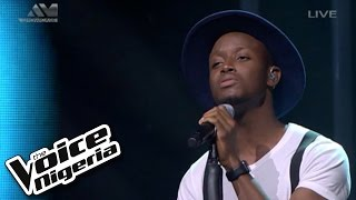 "Chike sings ""500 Miles"" / Live Show / The Voice Nigeria 2016"