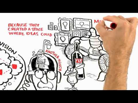 Where good ideas come from by Steven Johnson - Kids and Science