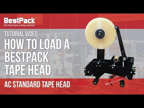 How to Load a BestPack Tape Head