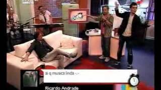 Filipe Gonçalves - Medley em karaoke / Pedro Fernandes / 5 Para a Meia Noite