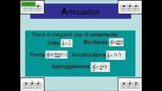 Features of Baroque Music