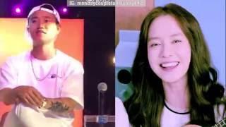 """Gary sings along Jihyo 's song """"You're so cute"""""""