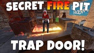 RUST   FIRE PIT TRAP BASE! *SUPER SECRET*