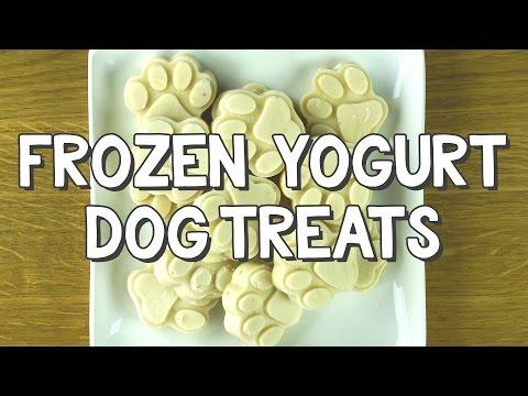 Frozen Yogurt Dog Treats