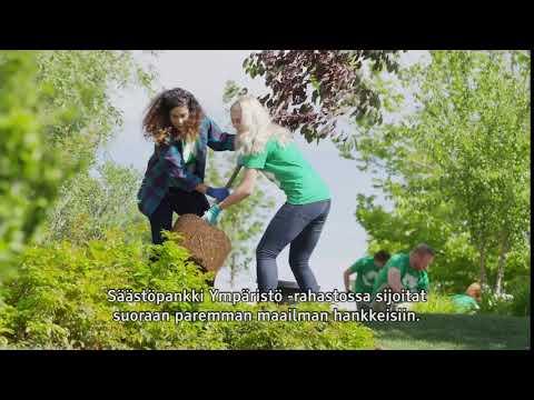 Tahdon asialla - Säästöpankki Ympäristö -rahasto 10s | Säästöpankki Sparbanken