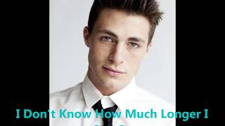 Colton Haynes Craving You Lyrics