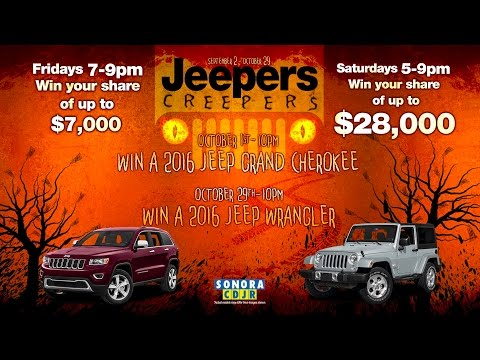 Jeepers Creepers - Sept/Oct 2016 Promotion