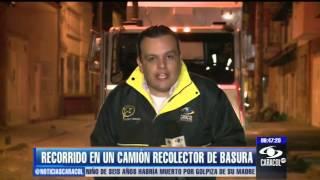 Así trabajaron camiones alquilados para recolección de basura en Bogotá - 22 de enero de 2013