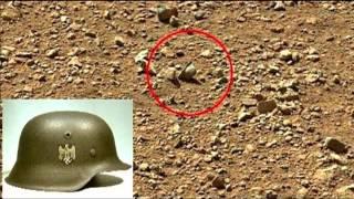 Casco Nazi en Marte