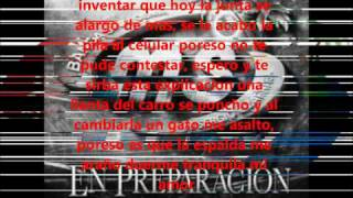 Banda MS Sin Evidencia- Karaoke