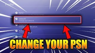 WHAT HAPPENS WHEN YOU CHANGE YOUR PSN on PLAYSTATION? (PSN NAME CHANGE ID TUTORIAL)